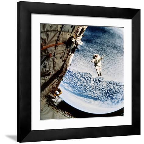Evaluation of SAFER EVA Backpack, STS-64--Framed Art Print