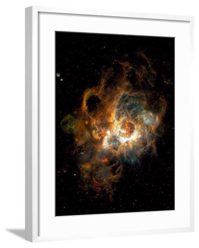 Hubble Space Telescope View of Nebula NGC 604--Framed Art Print
