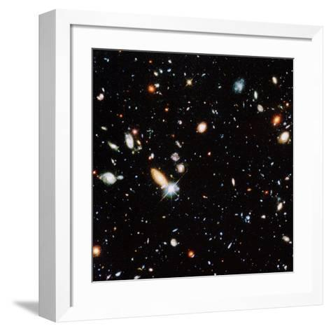 Very Distant Galaxies--Framed Art Print
