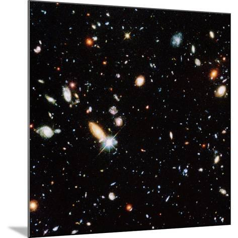 Very Distant Galaxies--Mounted Photographic Print