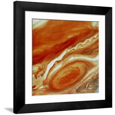 Great Red Spot on Jupiter--Framed Art Print