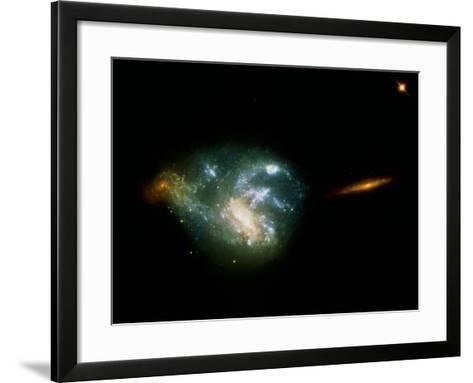 Irregular Galaxy NGC 7673--Framed Art Print