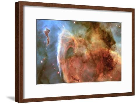 Eta Carinae Nebula--Framed Art Print