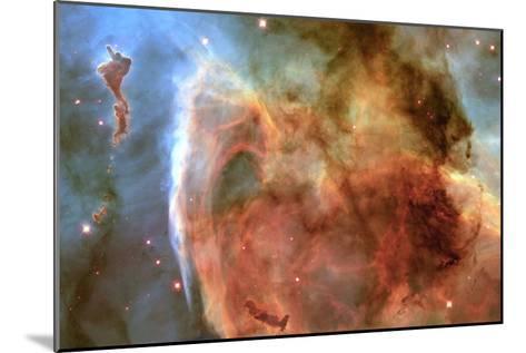 Eta Carinae Nebula--Mounted Photographic Print