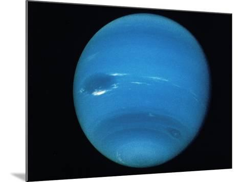 Voyager 2 Image of the Planet Neptune--Mounted Photographic Print