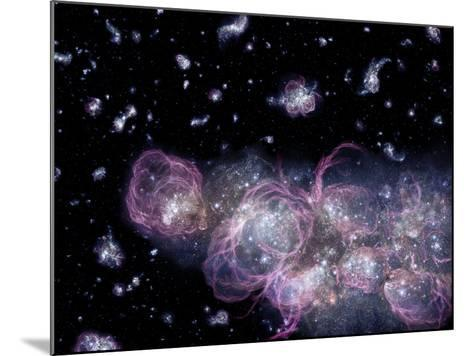 Star Birth In the Early Universe--Mounted Photographic Print