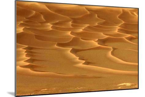 Martian Dunes, Endurance Crater--Mounted Photographic Print