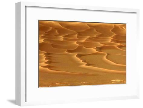 Martian Dunes, Endurance Crater--Framed Art Print