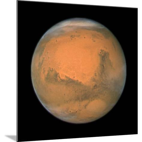 Mars Close Approach 2007, HST Image--Mounted Photographic Print