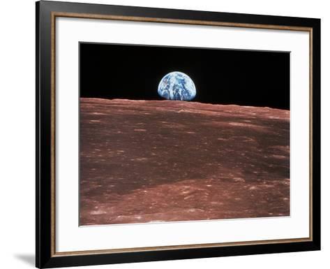 Earth Rising--Framed Art Print