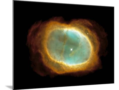 Planetary Nebula NGC 3132--Mounted Photographic Print