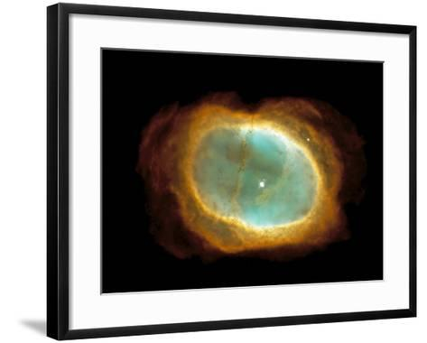 Planetary Nebula NGC 3132--Framed Art Print