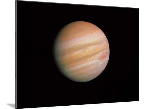Voyager 1 Photo of Jupiter--Mounted Photographic Print