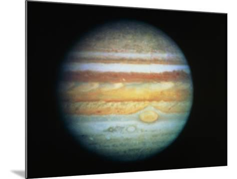 Image of Jupiter Taken with the Hubble Telescope--Mounted Photographic Print