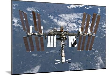 International Space Station, 2011--Mounted Photographic Print