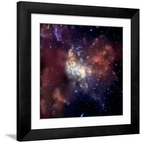 Sagittarius A, X-ray Image--Framed Art Print