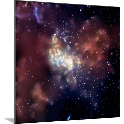 Sagittarius A, X-ray Image--Mounted Photographic Print