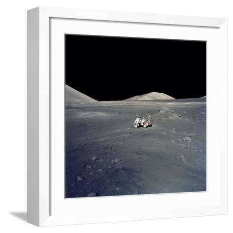 Apollo 17 Astronauts--Framed Art Print