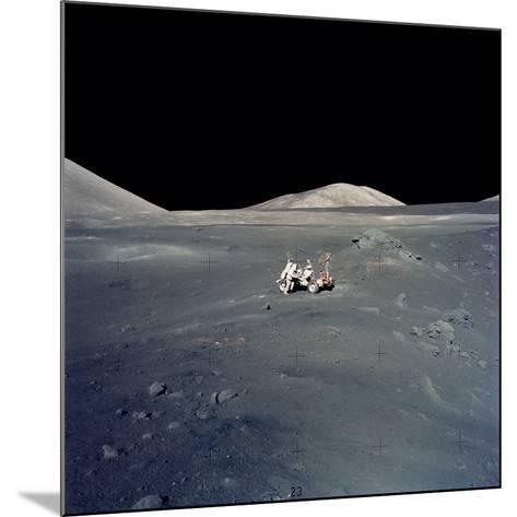Apollo 17 Astronauts--Mounted Photographic Print