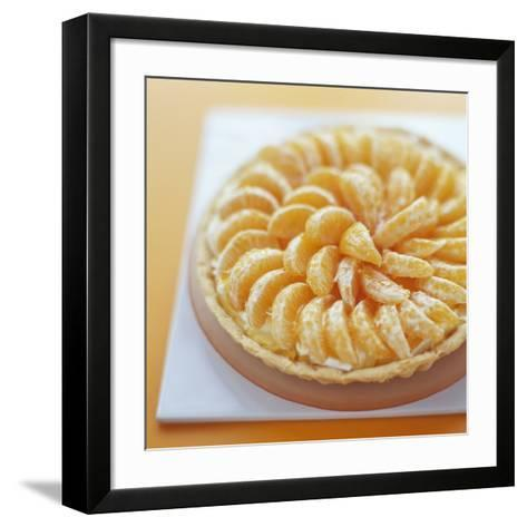 Mandarin Tart-David Munns-Framed Art Print