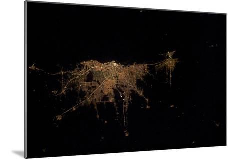 City Lights of Buenos Aires, Argentina--Mounted Photographic Print
