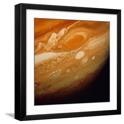 Voyager 1 Image of the Planet Jupiter--Framed Art Print