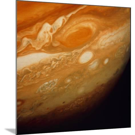 Voyager 1 Image of the Planet Jupiter--Mounted Photographic Print