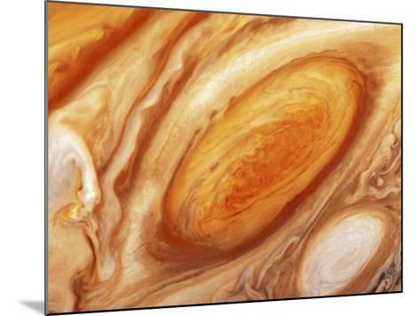 Jupiter's Great Red Spot--Mounted Photographic Print