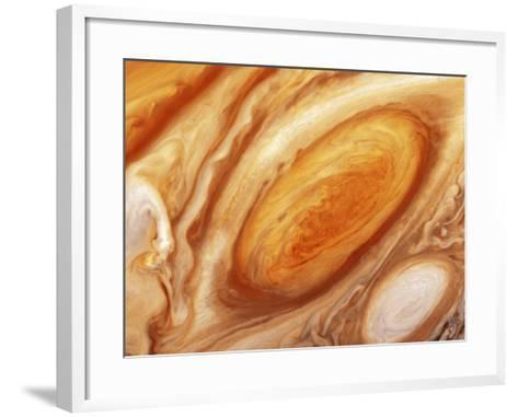 Jupiter's Great Red Spot--Framed Art Print