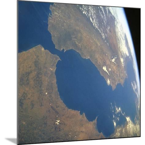 Strait of Gibraltar, Satellite Image--Mounted Photographic Print