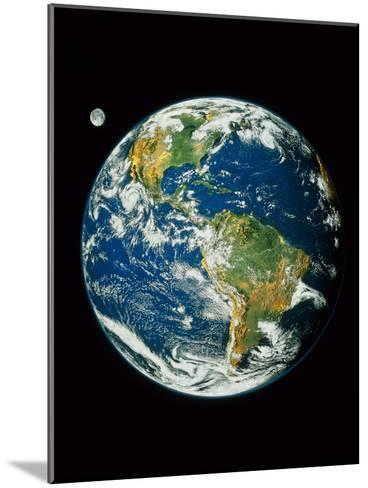 Whole Earth (Blue Marble 2000)--Mounted Photographic Print