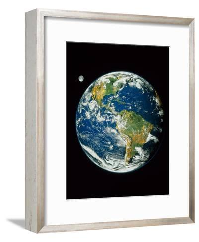 Whole Earth (Blue Marble 2000)--Framed Art Print
