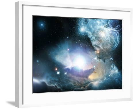 Primordial Quasar, Artwork--Framed Art Print