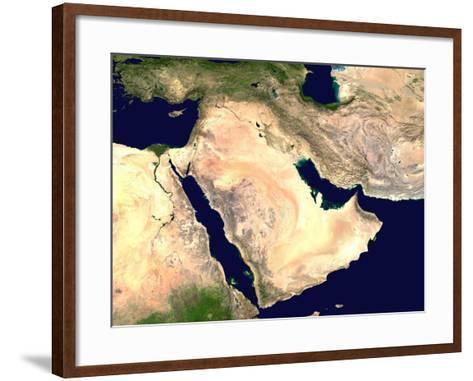 Middle East--Framed Art Print