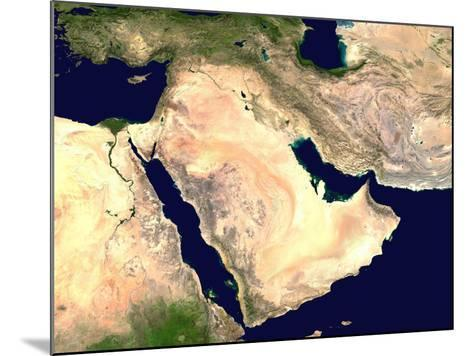 Middle East--Mounted Photographic Print