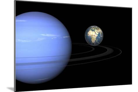 Neptune And Earth, Artwork-Walter Myers-Mounted Photographic Print