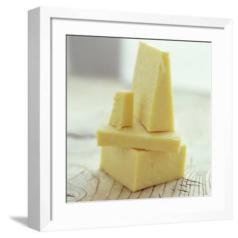 Cheddar Cheese-David Munns-Framed Art Print