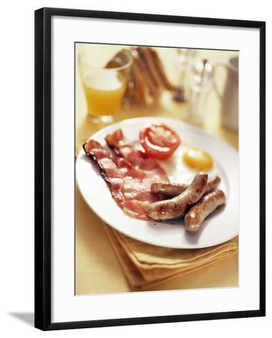 Fried Breakfast-David Munns-Framed Art Print