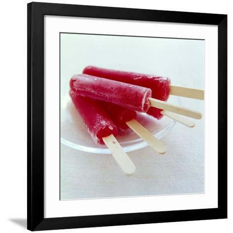 Iced Lollies-David Munns-Framed Art Print
