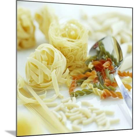 Assorted Pasta-David Munns-Mounted Photographic Print