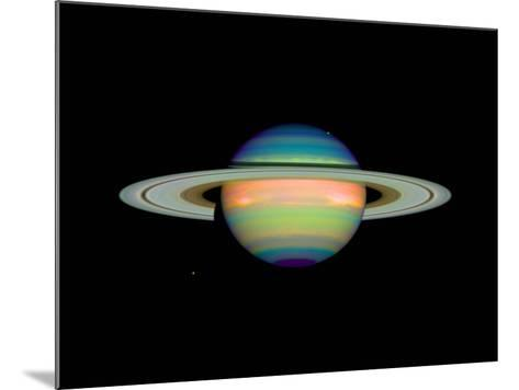 Cloud Cover on Saturn--Mounted Photographic Print