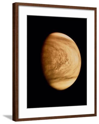 Pioneer Venus Image of Venusian Clouds--Framed Art Print