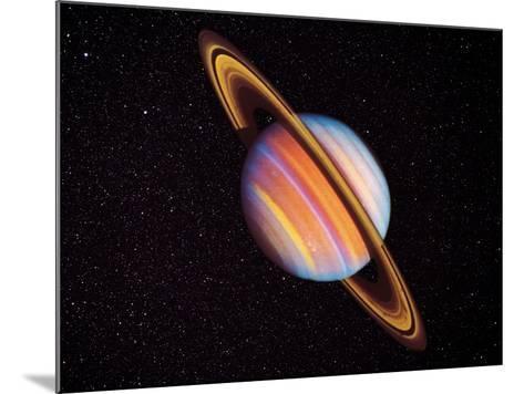 Saturn--Mounted Photographic Print