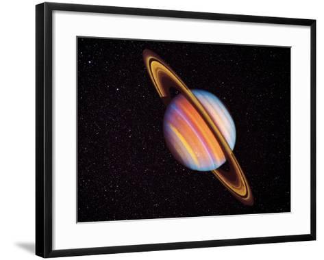 Saturn--Framed Art Print