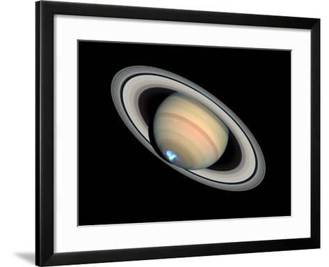 Aurora on Saturn--Framed Art Print