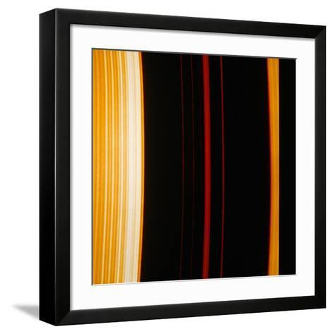 Part of Saturn's Ring System--Framed Art Print