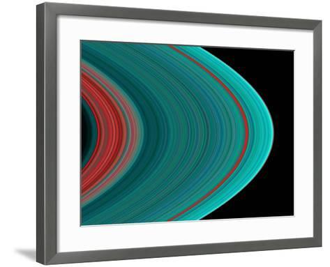 Saturn's Rings--Framed Art Print