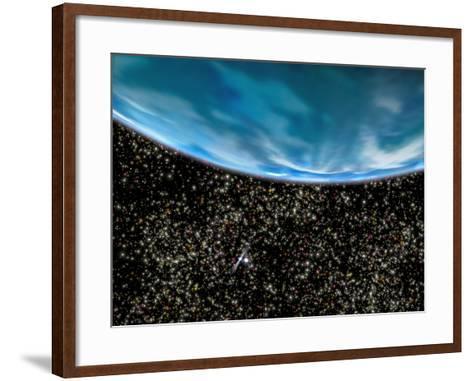 Ancient Planet In M4 Globular Cluster--Framed Art Print