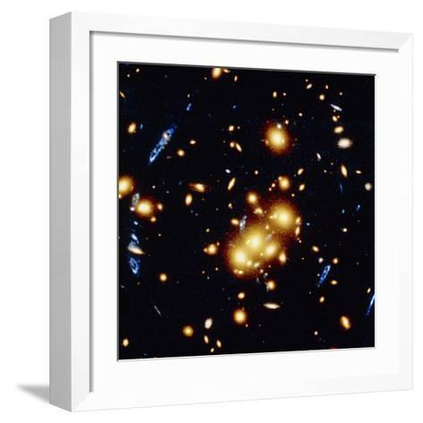 HST View of Gravitational Lens 0024+1654--Framed Art Print