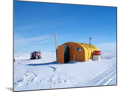 Antarctic Research Station, McMurdo Base-Ria Novosti-Mounted Photographic Print
